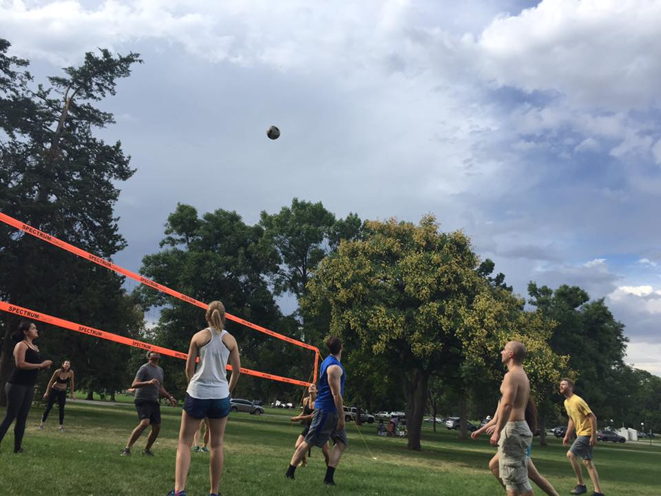 Volleyball And Fun At The Park 8 28 2016 Denver Westies